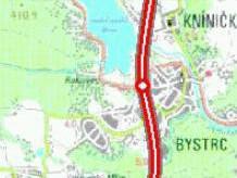 Původní plánovaná trasa R43