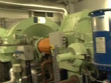 Turbína v brněnské spalovně