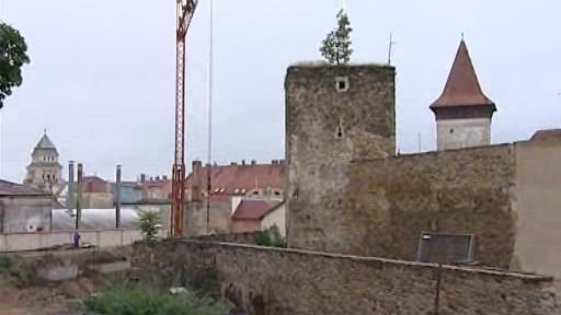 Středověká věž ve Znojmě