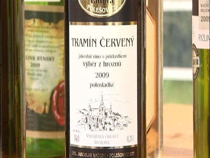 Vítězné víno z Polešovic