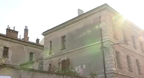 bývalá komunistická věznice v Uherském Hradišti