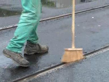 Zametání kolejí