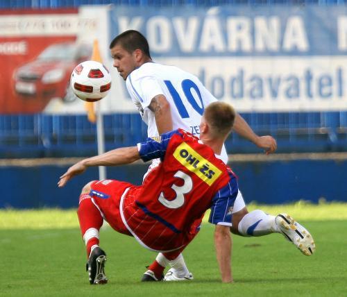 Zápas Baník Ostrava - Zbrojovka Brno