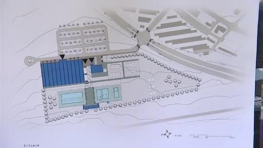Plán sportovně rekreačního areálu ve Vinohradech