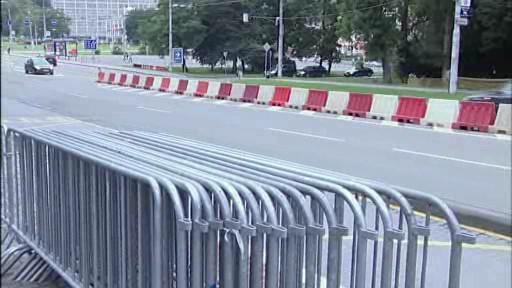 Přípravy na Barum Rally ve Zlíně