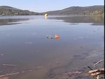 Znečištěná voda Brněnské přehrady