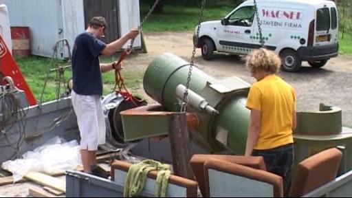 Instalace nového dalekohledu