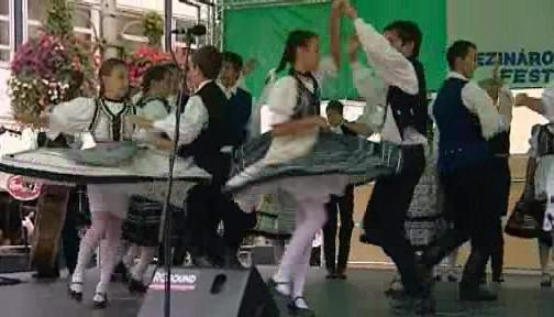 Folklorní festival v Brně