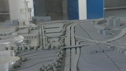 Model univerzitního kampusu