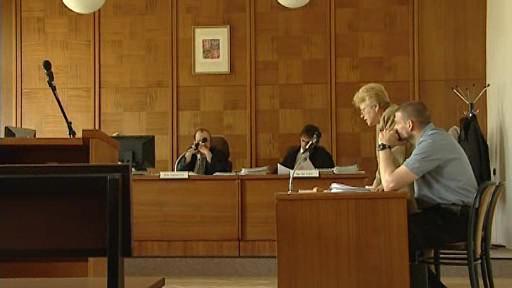 Policista Josef Srnský u soudu