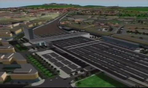 Vizualizace nového brněnského nádraží
