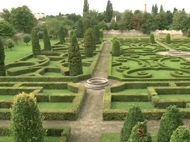 Zámecká zahrada v Bučovicích