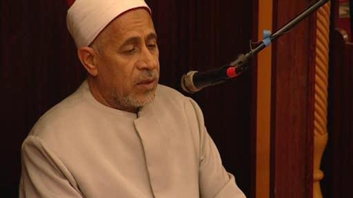 Egyptský imám Al-Safadi Noureddin