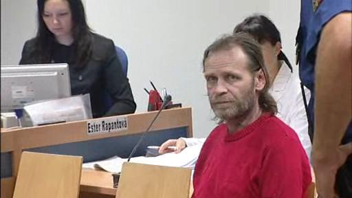 Obžalovaný Jiří Adam u zlínského krajského soudu