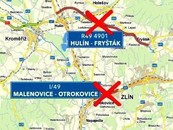 Zastavené stavby na Zlínsku