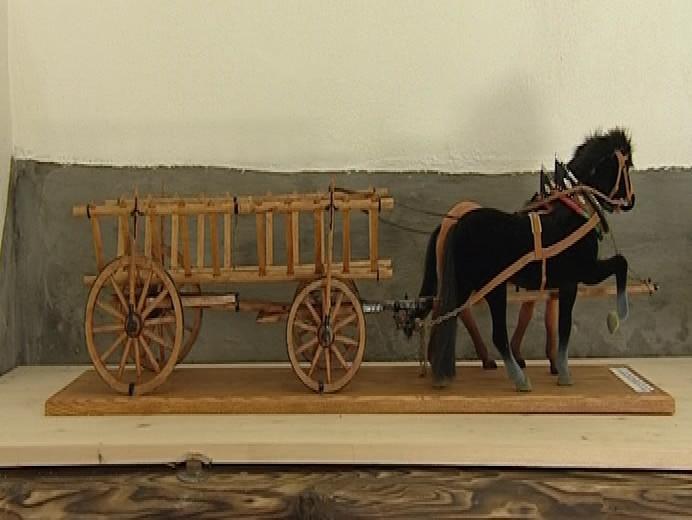 Sbírka modelů historických zemědělských strojů v Lanžhotě