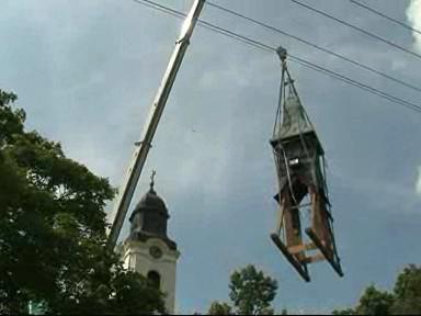 Oprava kostela ve Velkých Pavlovicích