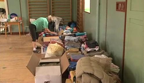 Humanitární sbírka v Rohatci