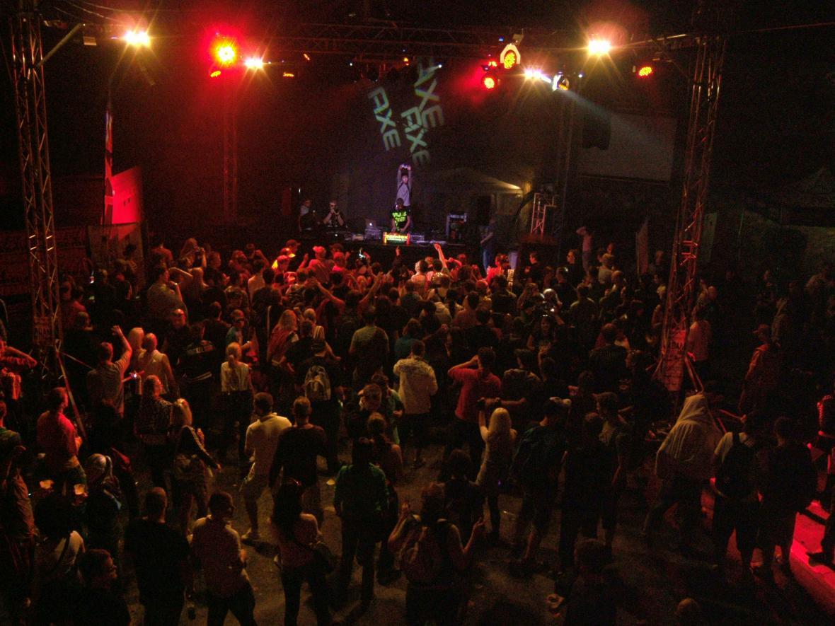 Taneční párty na boskovickém hradu