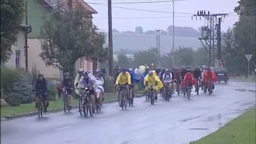 Věřící z Uherského Brodu na cyklopouti