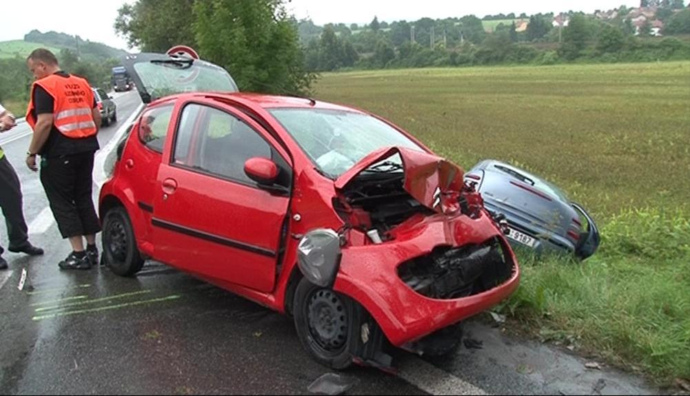 Nehoda ve Svitávce