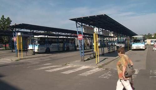 Autobusové nádraží v Kyjově