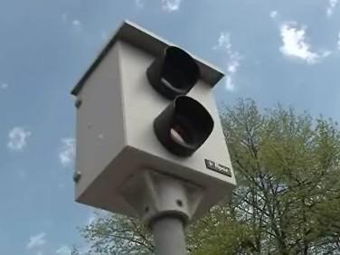 jeden z radarů v Prostějově