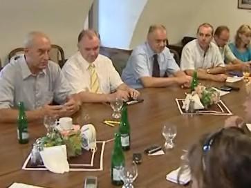 Jednání krajské koalice