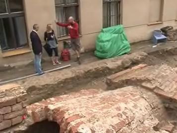 Historický vodovod v centru Brna