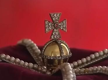 Zrekonstruovaná knížecí koruna rodu Salmů
