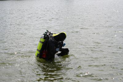 Záchranáři pátrají na Nových Mlýnech po zmizelém muži