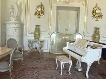 Interiér zámku v Kroměříži