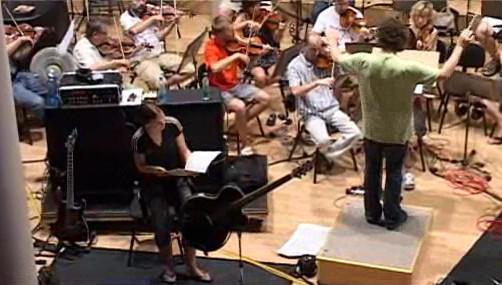 Zkouška Tarji Turunen a zlínského orchestru