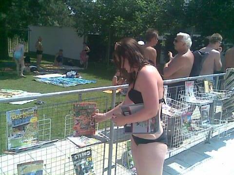 V blanenském aquaparku funguje půjčovna časopisů
