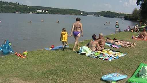 Kdysi přeplněné pláže brněnské přehrady dnes navštíví jen zlomek lidí