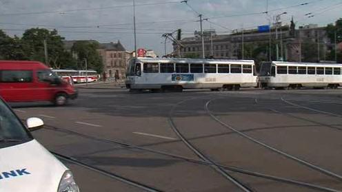 Centrum Brna blokovala porouchaná tramvaj