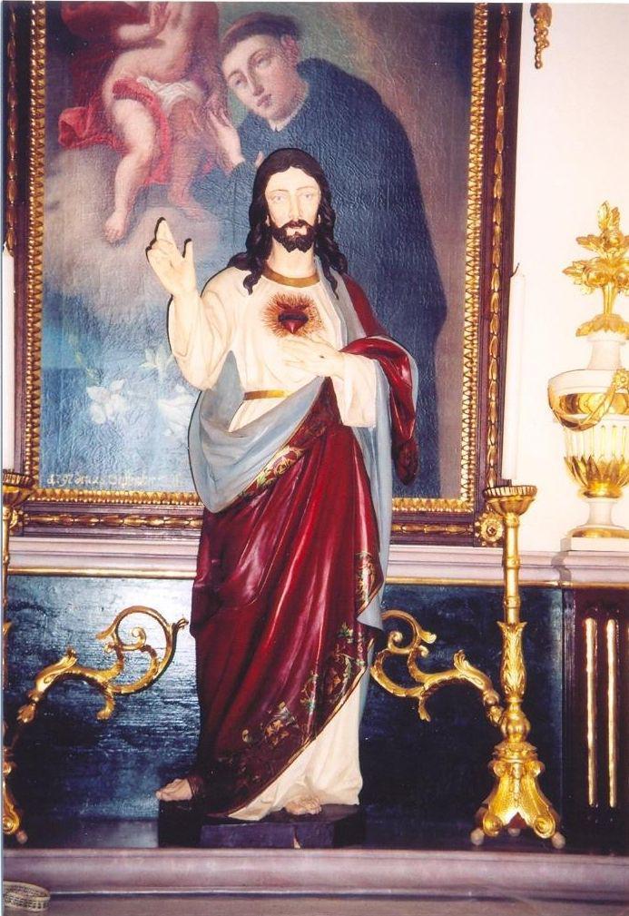 Sochy ukradené z želešického kostela