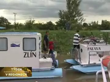 Výletní lodě na Baťově kanálu