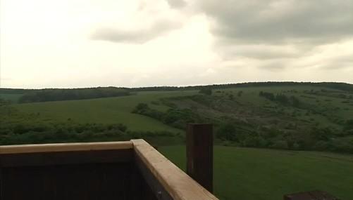 Pohled z rozhledny Drahy u Javorníku