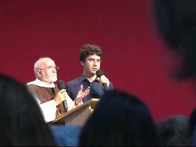 Francouzský kněz Jacques Philippe přednáší