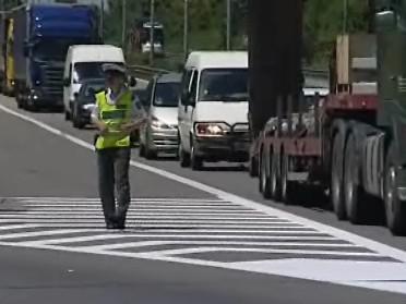 Nehoda uzavřela dálnici D1