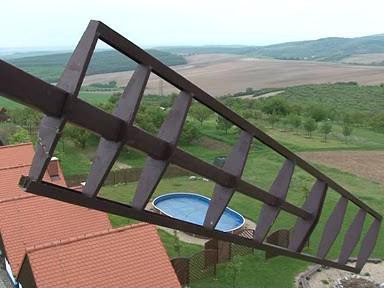 Pohled z Bukovanského mlýna