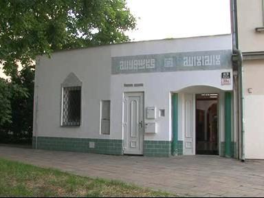 Mužský vchod do mešity