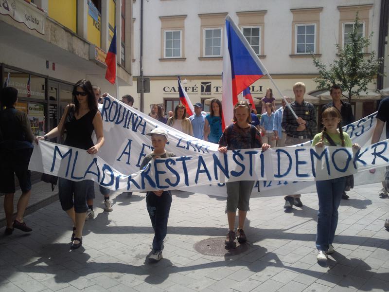 Mladí křesťanští demokraté ohlásili Pochod pro rodinu