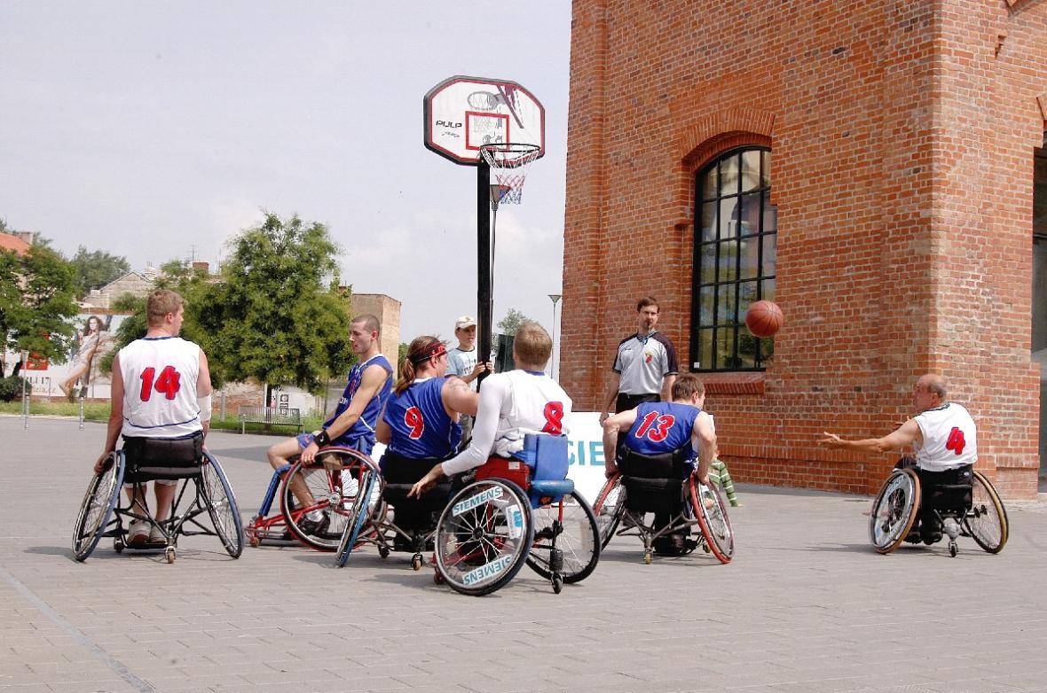 Hry handicapované mládeže