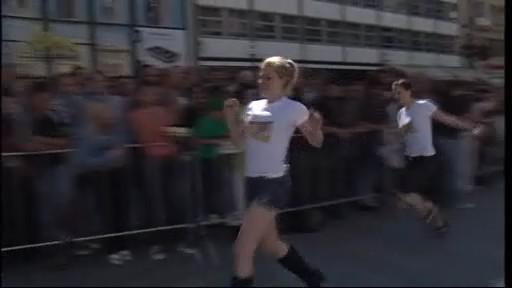 Běh na podpatcích
