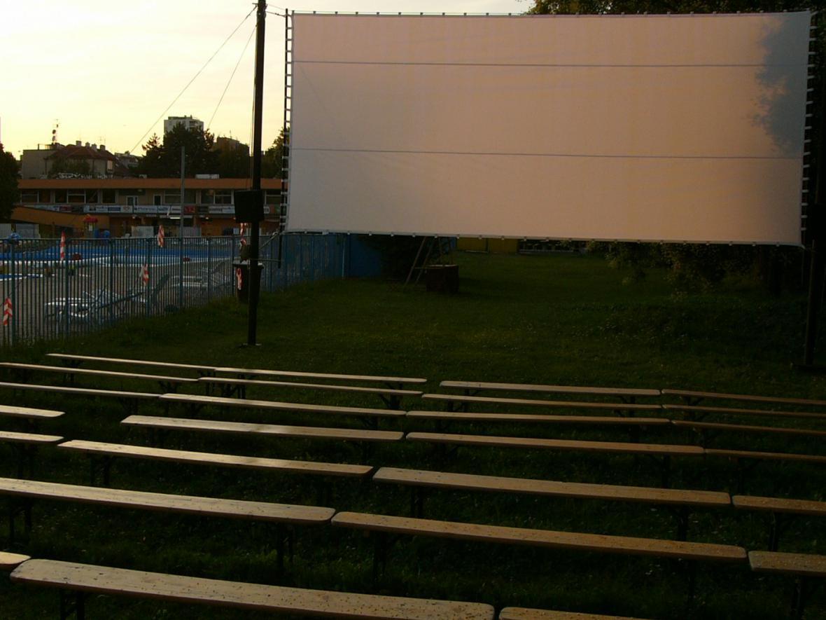 Letní kino na Dobráku