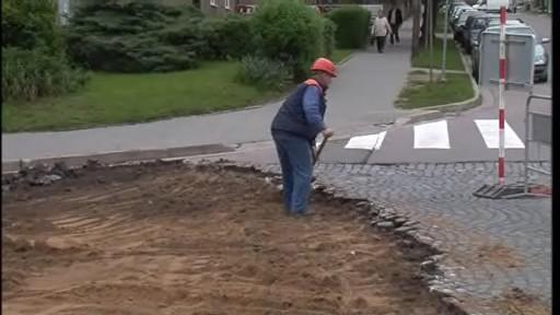 Oprava silnice ve Znojmě