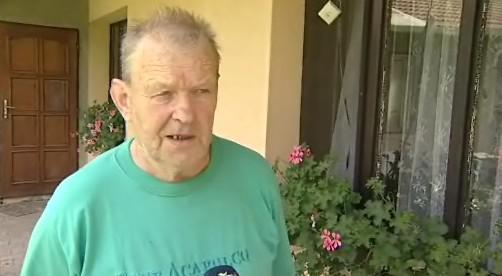 Miroslav Adamec, postižený důchodce