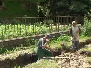 Ivanovice na Hané likvidují následky povodní